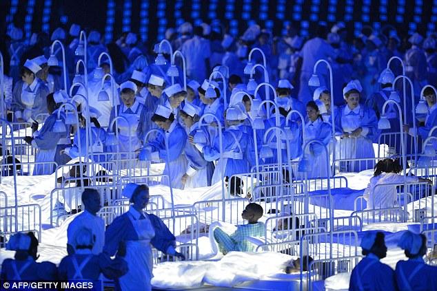 london 2012 olympics opening ceremony coronavirus (d)