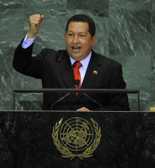 Resultado de imagen para CHAVEZ ONU