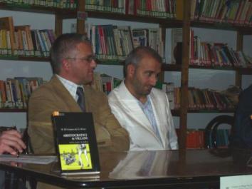 I due autori: a destra Marco Di Giaimo, a sinistra Giuseppe Bono