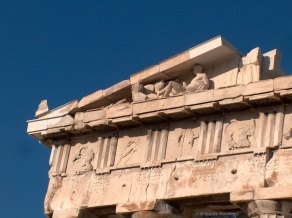 Parthenon, Eastern pediment, S corner
