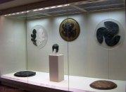 Ασπίδες που είχαν αφιερωθεί στο ιερό. Μουσείο Ολυμπίας.