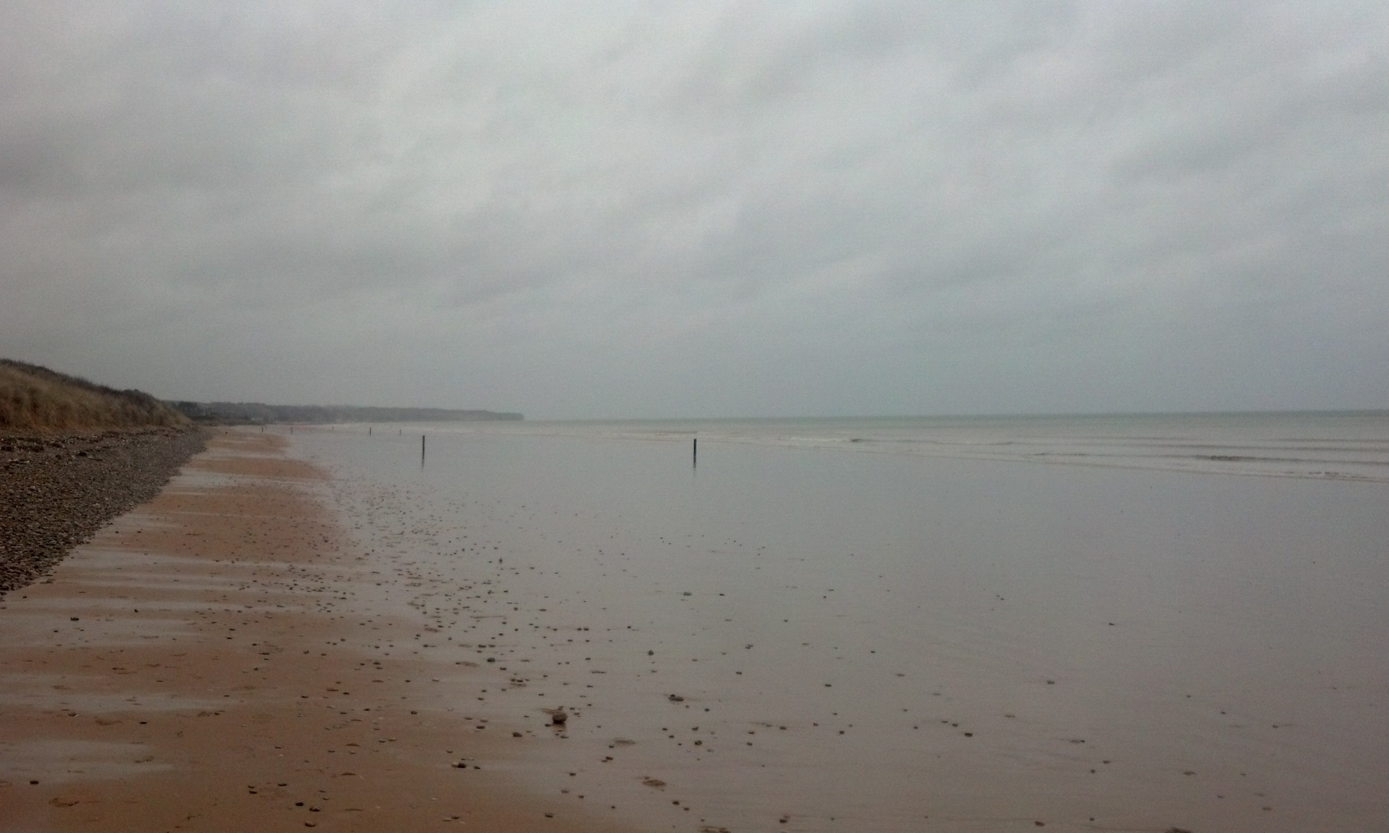 Omaha beach - photo by author