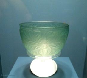 Monochrome glass bowl,