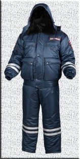 Костюм зимний укороченный ДПС-3
