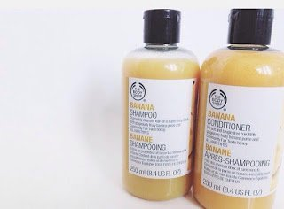 banana shampoo the body shop