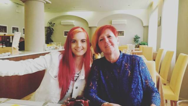 mother's day - a picture of emma and her mum