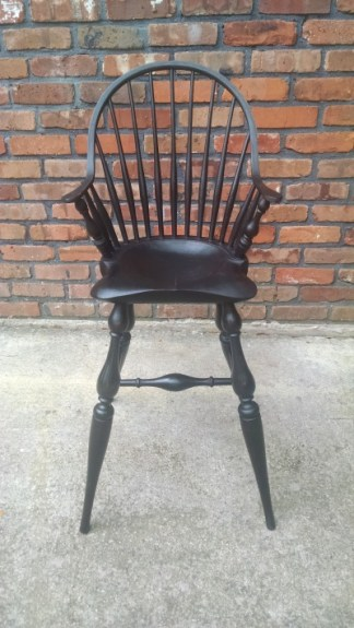 Continuous-Arm Windsor High Chair I