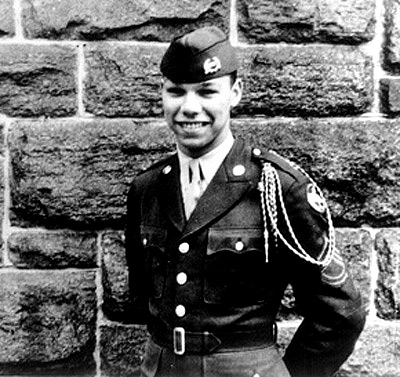 Powell as a cadet