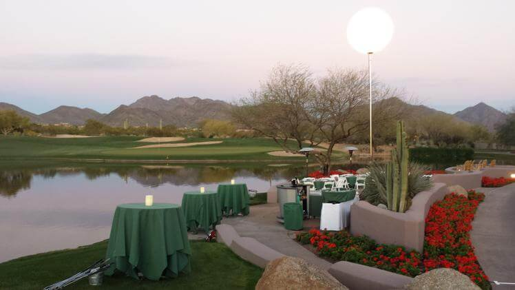 Arizona Private Golf Course Events
