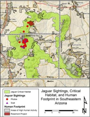 Jaguar-Habitat-Map