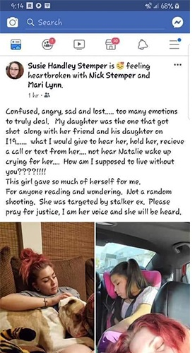 facebook post of mother