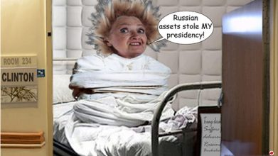 Image result for hillary clinton i see russians everywhere