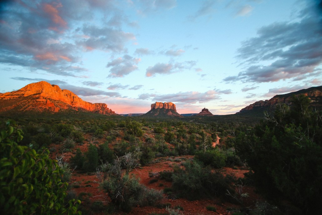 Desert Landscape of Sedona Arizona