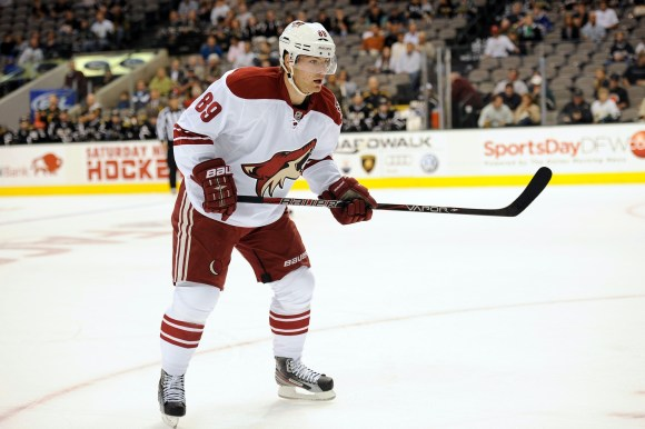 Arizona Coyotes forward Mikkel Boedker