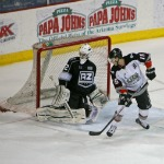 Andrew Engelage: CHL Warrior Goalie of the Month