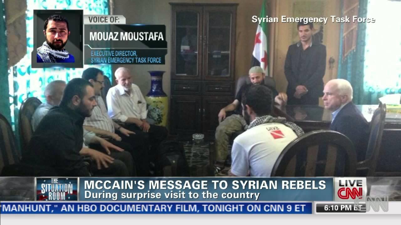 Mccain syria