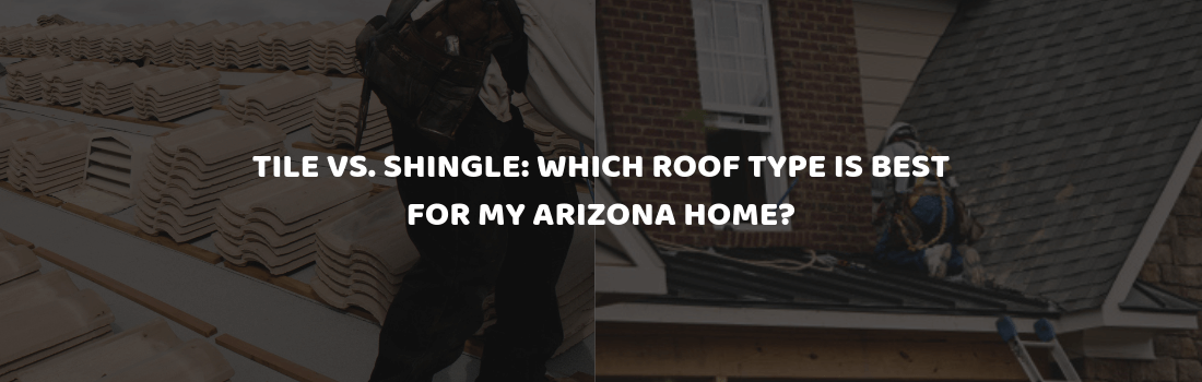 tile vs shingle which roof type is