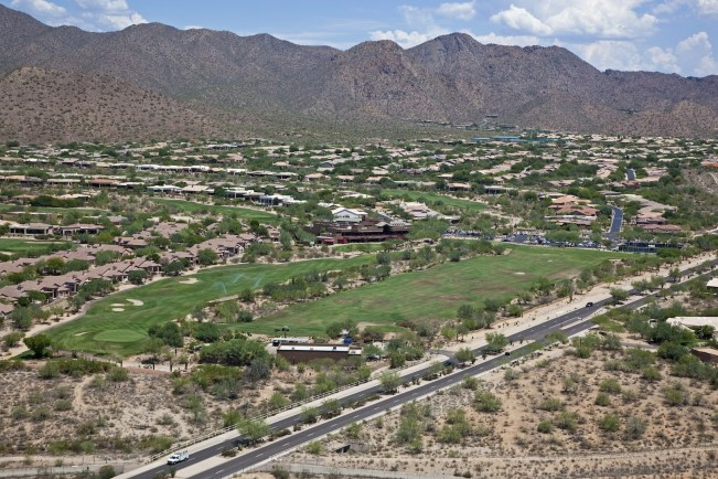 Ancala Scottsdale aerial view