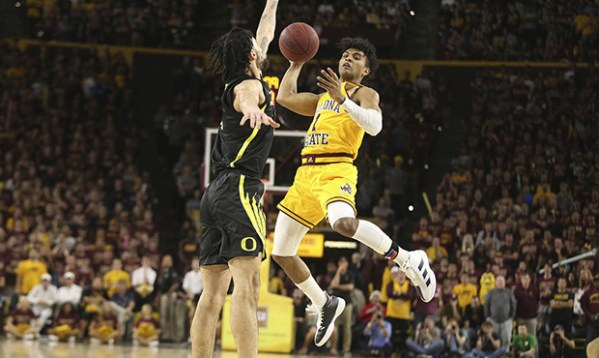 Sun Devil guards thrive in wild 2nd half, upset No. 14 Oregon at home
