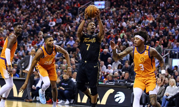 Suns come of out of break struggling immensely from 3, fall to Raptors