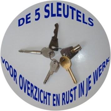 """""""de 5 sleutels voor overzicht en rust in je werk"""""""
