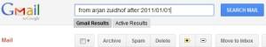 Gmail zoekbox heeft vele mogelijkheden