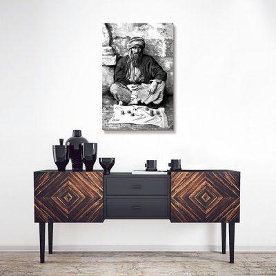 Tableau oriental – Mendiant