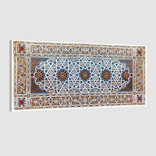 Tableau oriental ornement géométrique