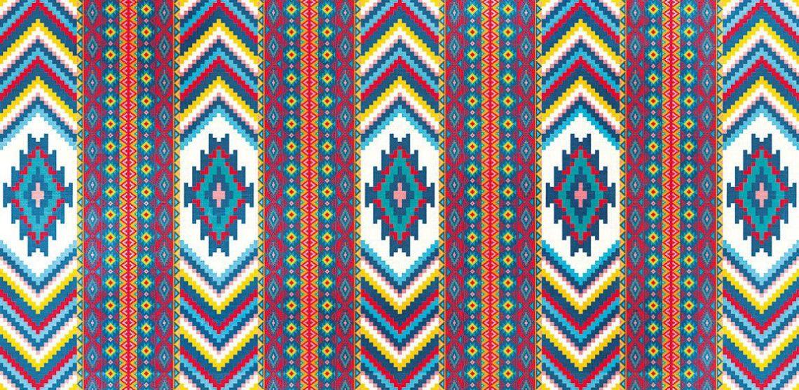 toile orientale tapis berbere