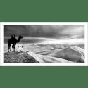 Poster oriental-désert-noir et blanc