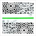 poster-arabe-abstrait-mosaique-vert
