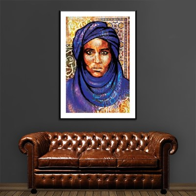 Poster arabe portrait bédouin