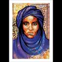 Poster arabe-portrait bédouin