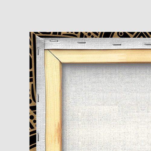 Tableau islamique chahada-détail