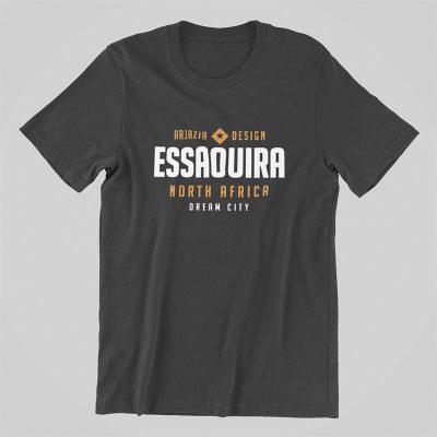 T-shirt arabe-essaouira-gris
