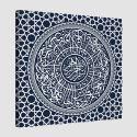 Tableau islam-sourate Al-sharh-bleu