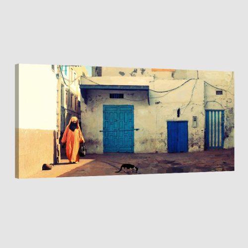 Tableau arabe paysage