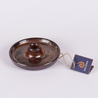 Kahverengi El Yapımı Seramik Tütsülük
