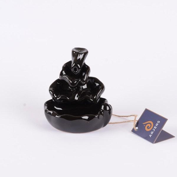 Siyah Seramik Geri Akış Tütsülük