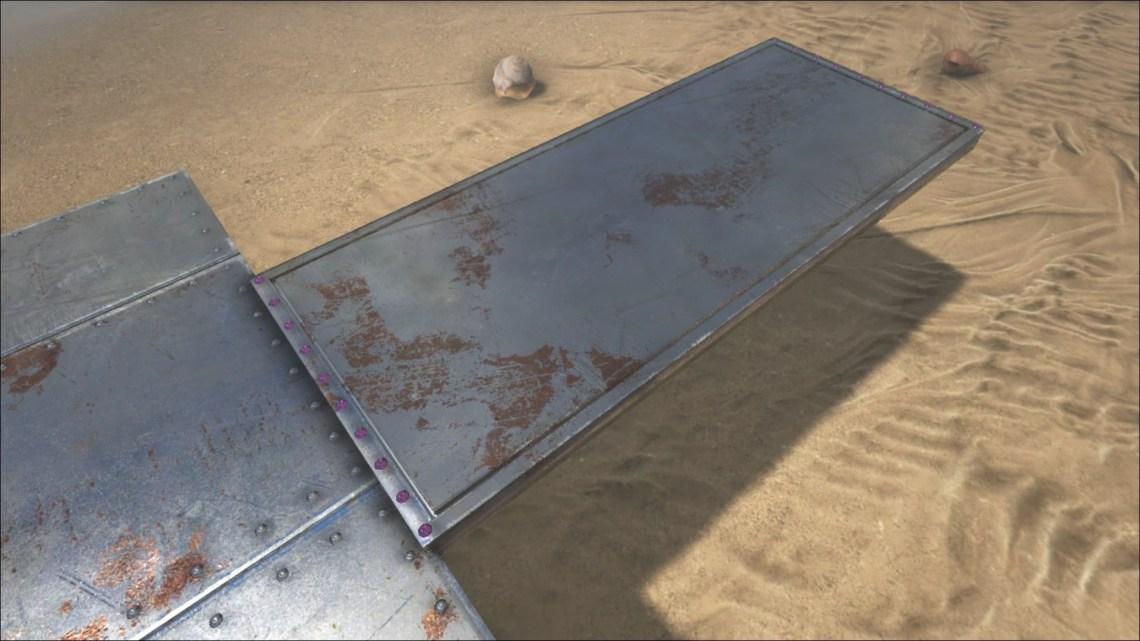 Image Result For Sloped Metal Roof Ark