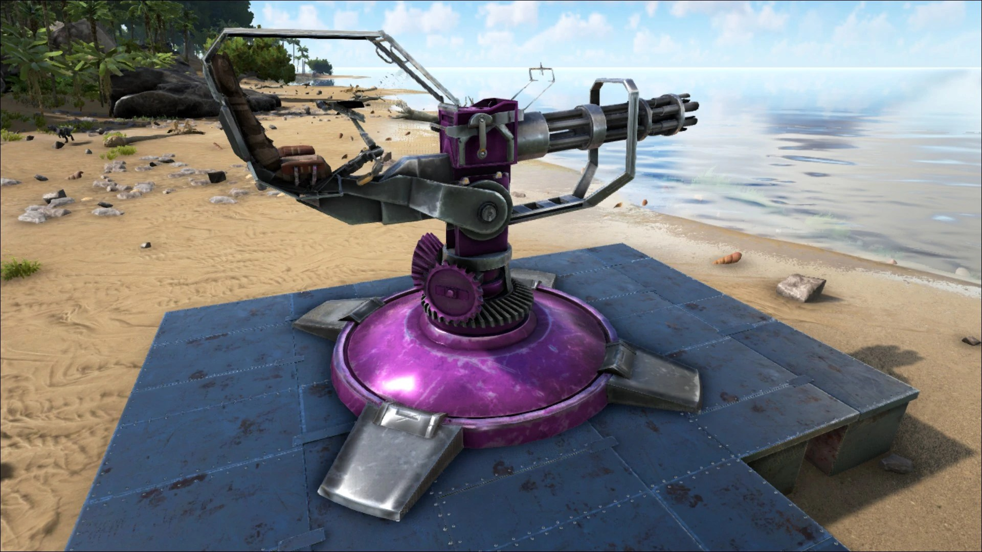 Minigun Turret Official ARK Survival Evolved Wiki