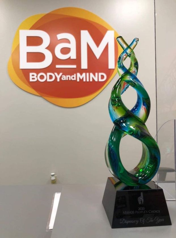 Arkansas' Dispensary of the Year: Body and Mind out of West Memphis, AR