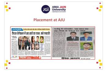 Placement Drive Six Students get selected in campus selection350x233V1