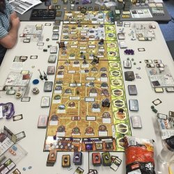 Arkham Horror with all 8 expansions