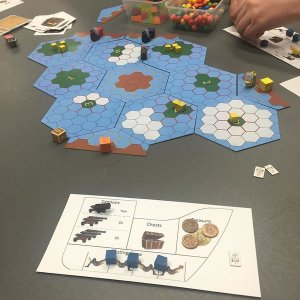 Second Playtest of Pirates at OzBunnyCon