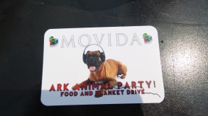 Movida's Ark Animal Party on the 9 May :)