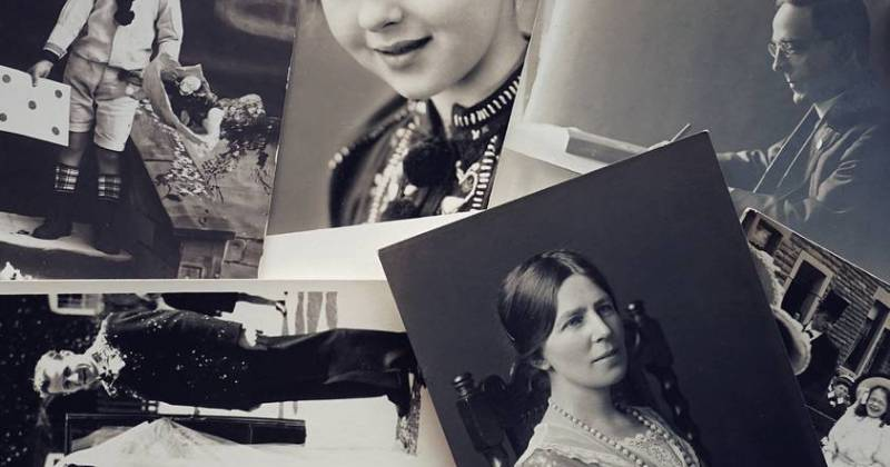 Photo of old pictures of people