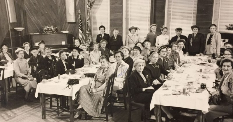 DAR Osage District Meeting 1953