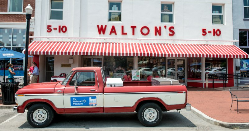 Walton's Museum in Bentonville
