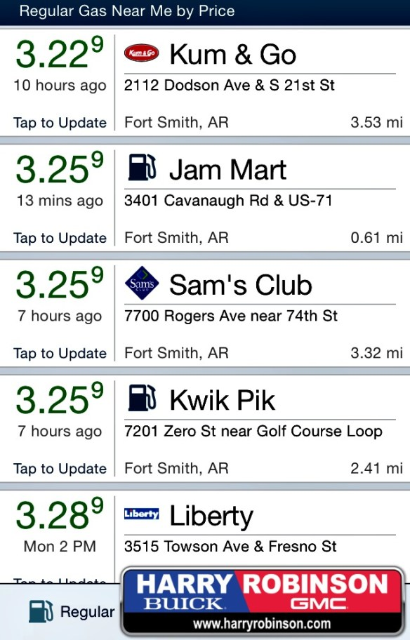 may 27th gas prices